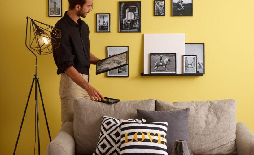 Evinizin Duvarlarında Anılarınıza Yer Açın! Farklı Çerçeve Asma Şekilleri