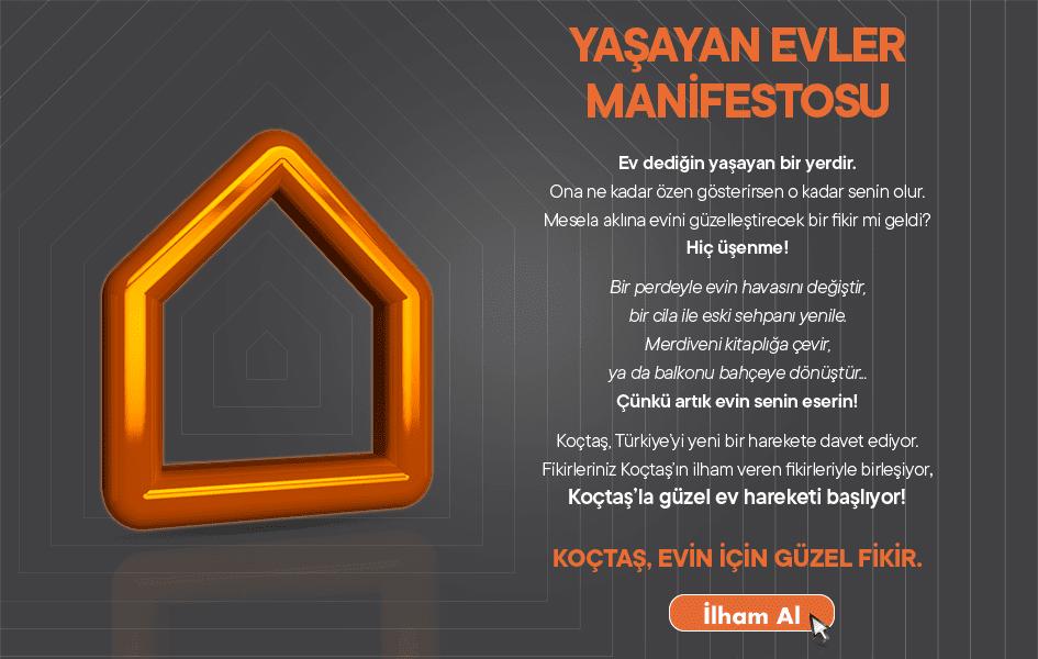 Yaşayan evler manifestosu.