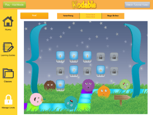 Manage levels with Kodable