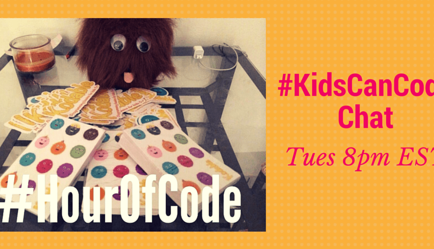 #KidsCanCode Chat: What Are You Doing for the #HourOfCode?