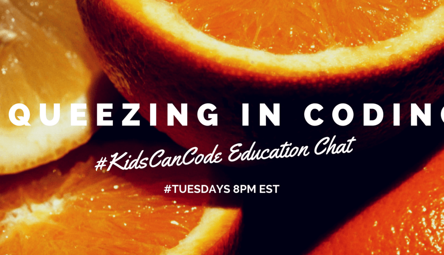 #KidsCanCode Chat: Squeezing Coding into My Curriculum