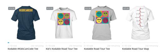 Kodable Road Trip T-Shirts