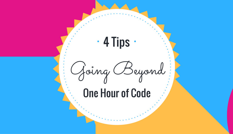 Beyond the Hour of Code. Join us!