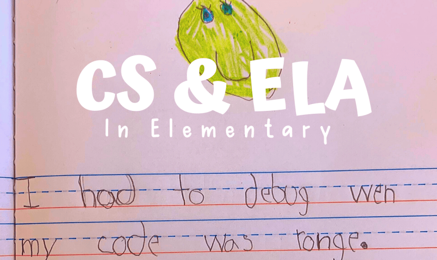 Tips to Connect ELA and Coding in Elementary