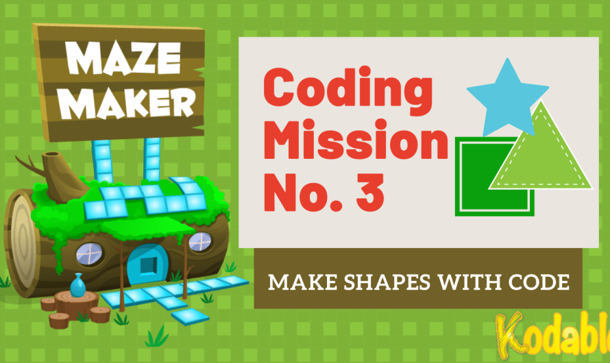 "Math and Coding: Mission 3 ""Making Shapes with Code"""