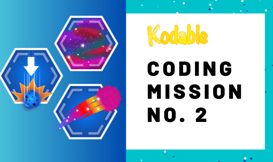 "Coding Activity: Mission No. 2  ""How to Design a Game"""