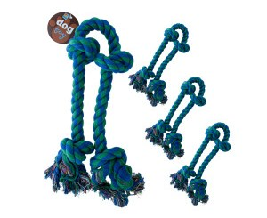 Large Knotted Dog Rope Toy Set