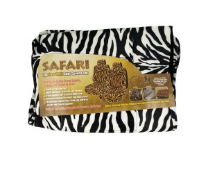Zebra Print Car Seat Covers