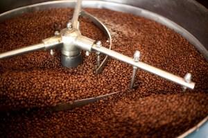 Машина за охлаждане на прясно изпечено кафе