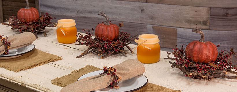 #MagazineMatch: Fall Table Centerpieces