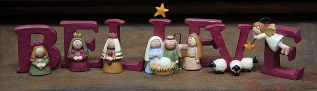 believe nativity set