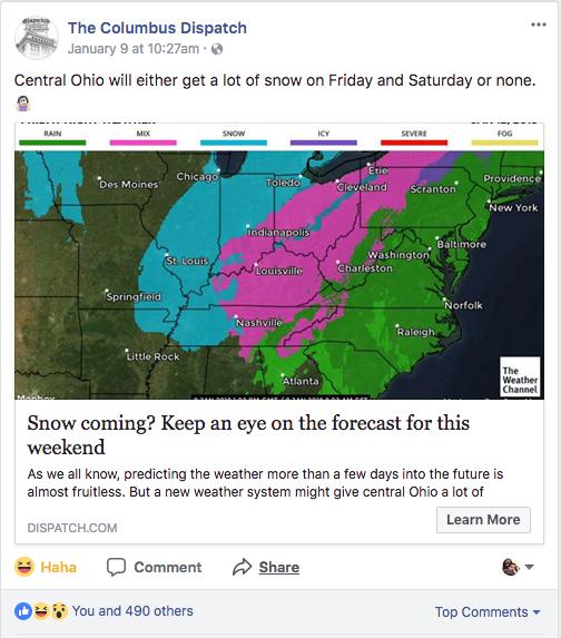 columbus forecast