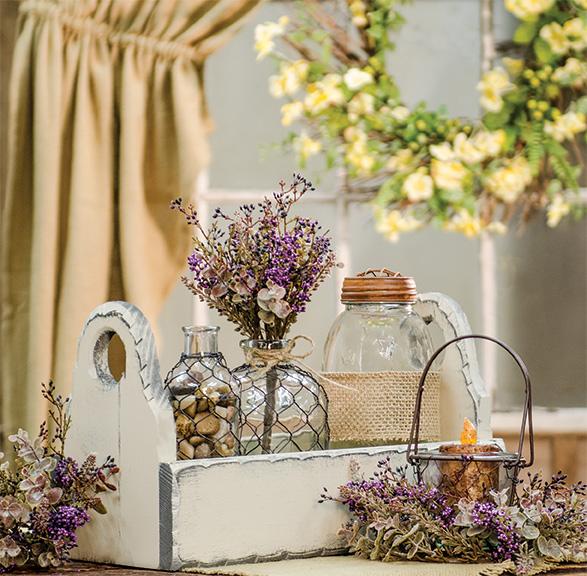 eucalyptus wheat gift basket