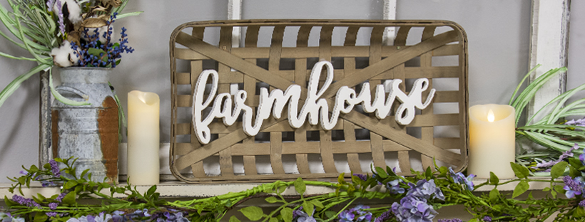Freshen Up Your Place with Farmhouse Decor