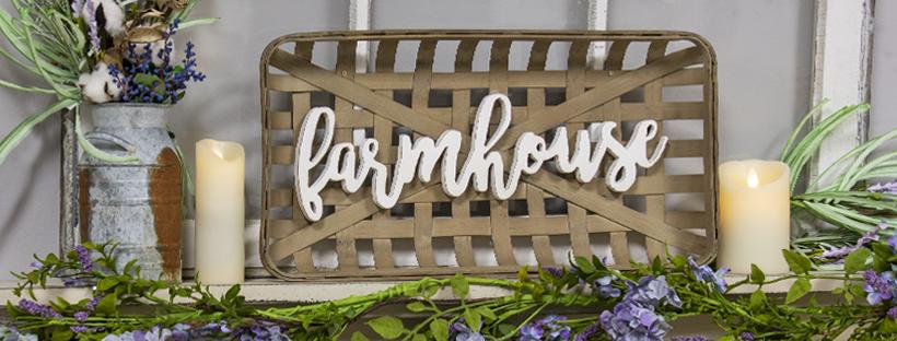 farmhouse feature
