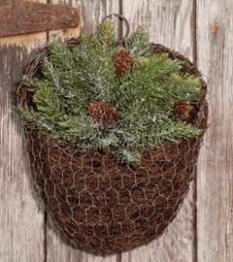 pine basket