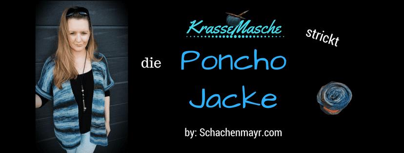 Die Ja zum Leben Poncho Jacke