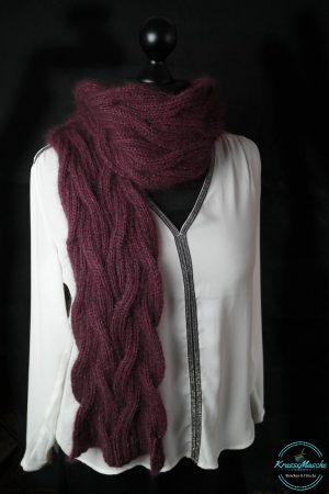 KrasseMasche´s *Burgundy Dream* Schal
