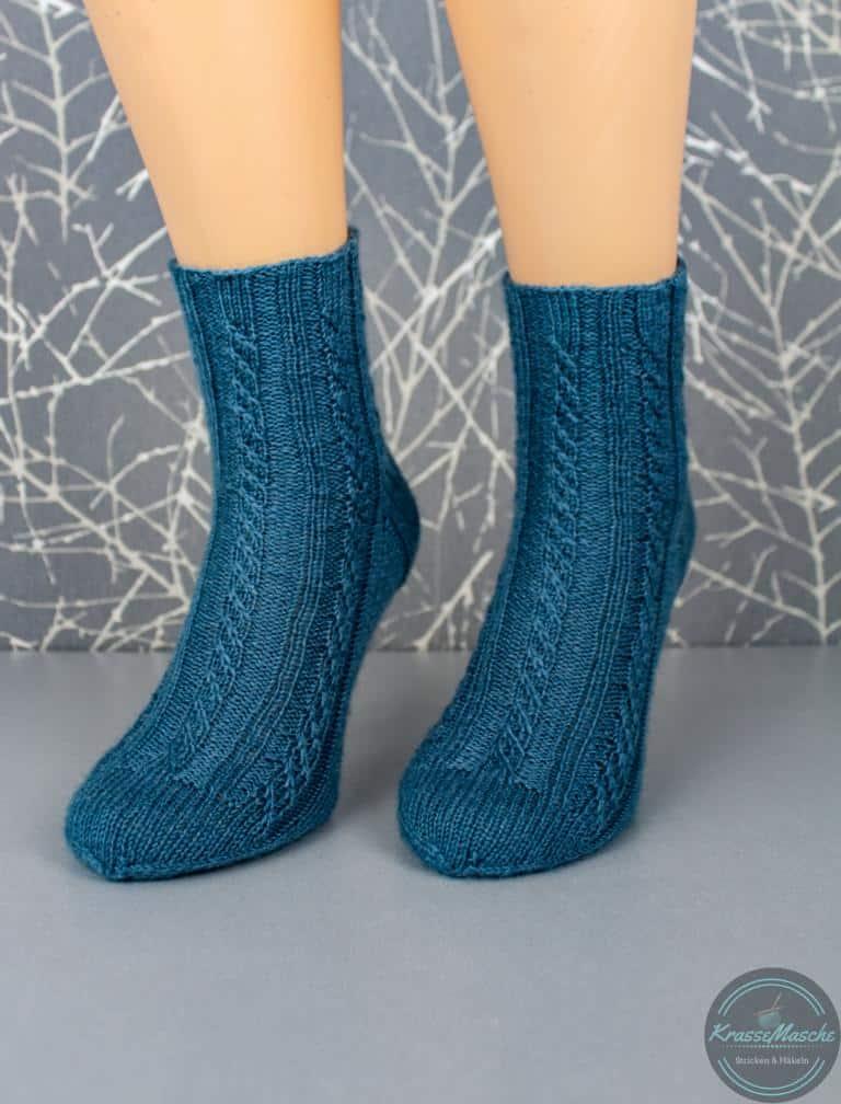 Die Twisted Left Socks Anleitung
