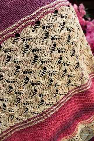 strick tuch maeva in faded beach und marsala von schachenmayr aus tahiti im kal von krassemasche