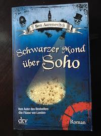 Schwarzer Mond über Soho Book Cover