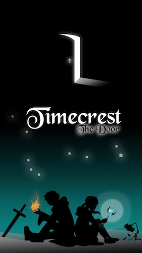 Timecrest The Door (Teil 1 + 2 in einer App) Book Cover