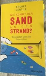 wie kommt der sand an den strand andrea gentile blanvalet