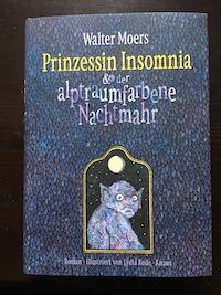 Prinzessin Insomnia & der alptraumfarbene Nachtmahr Book Cover