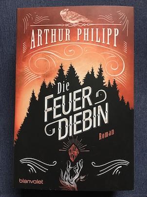 Die Feuerdiebin Book Cover