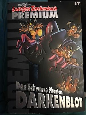 darkenblot das schwarze phantom lustiges taschenbuch asimov