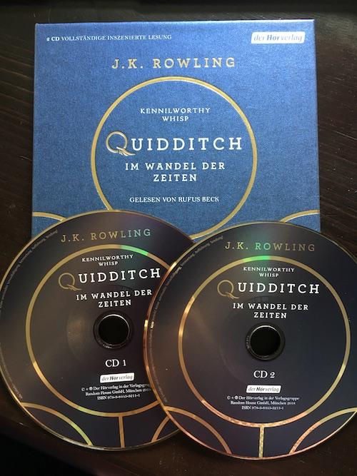Quidditch im Wandel der Zeiten Hörbuch Rufus Beck J.K. Rowling