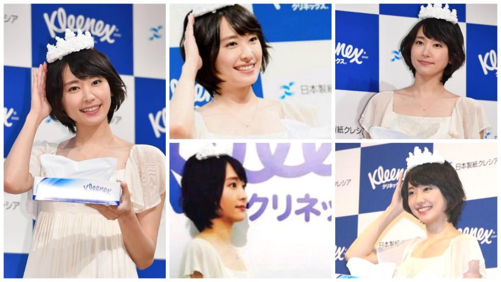 新垣結衣 日本製紙 Kleenex CM -「ふれるたび篇」記者會