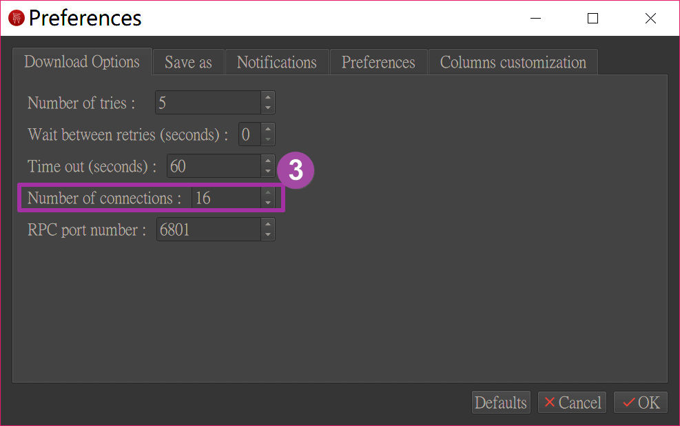 Persepolis Download Manager - 省去麻煩配置的 Aria2 下載器圖形介面版2