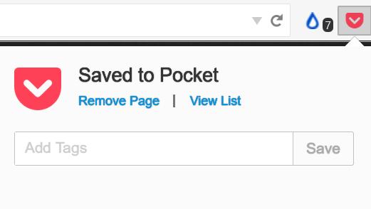 Firefox 整合 Pocket 無效率內建功能