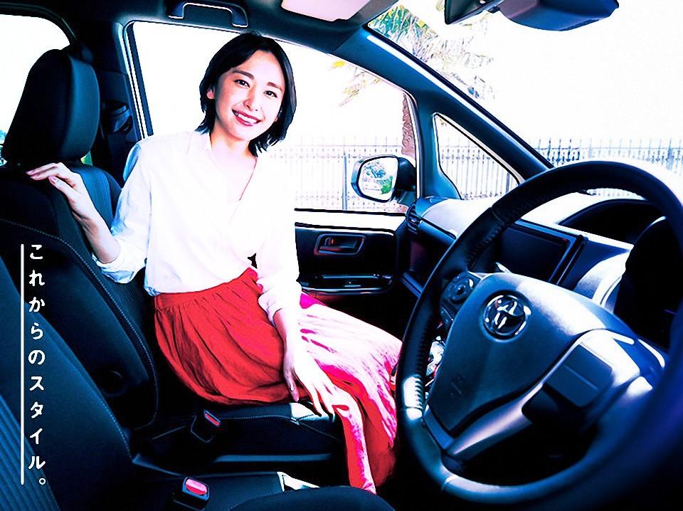 新園結衣代言 Toyota Noah 宣傳圖