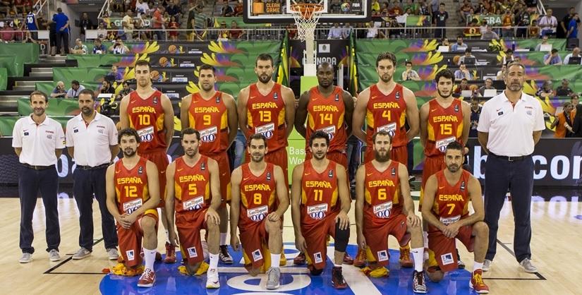 西班牙國家隊團隊合照