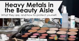 heavy metals cosmetics