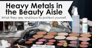 heavy metals cosmetics