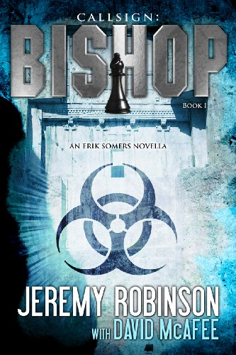 Callsign: Bishop by Jeremy Robinson | books, reading, book covers