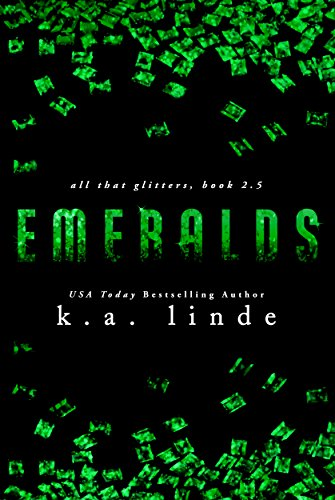 Emeralds by K.A. Linde | books, reading, book covers, cover love, jewels
