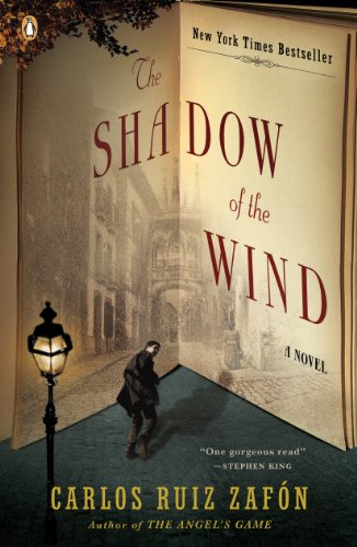 The Shadow of the Wind by Carlos Ruiz Zafon | books, reading, book covers