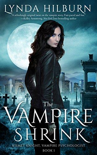 The Vampire Shrink by Lynda Hilburn | books, reading, book covers