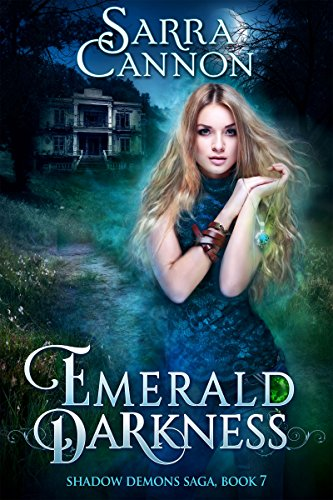 Emerald Darkness by Sarra Cannon | reading, books, book covers, cover love, haunted houses