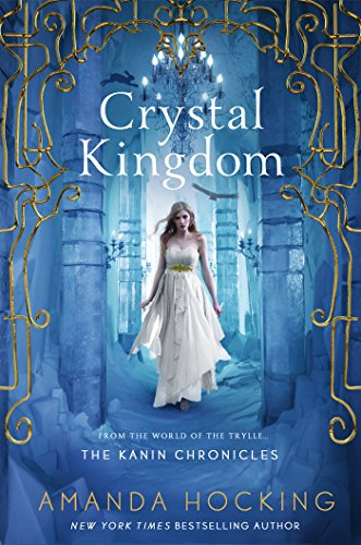 Crystal Kingdom by Amanda Hocking | reading, books, books covers, cover love, snow