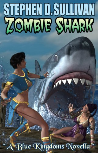 Zombie Shark by Stephen D. Sullivan | books, reading, book covers