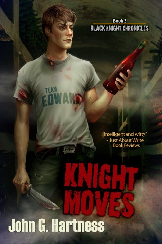 Knight Moves by John G. Hartness | reading, books, book covers, cover love, vampires