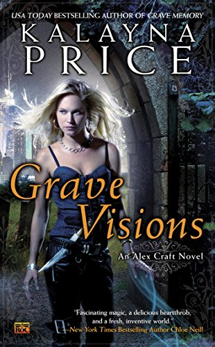 Grave Visions by Kalayna Price | books, reading, book covers, cover love, cemeteries