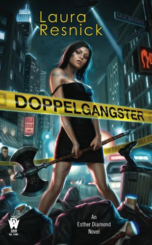Doppelgangster by Laura Resnick | reading, books
