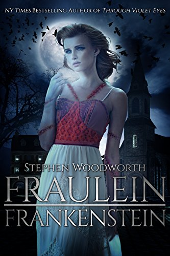 Fraulein Frankenstein by Stephen Woodworth | reading, books, book covers, cover love, birds