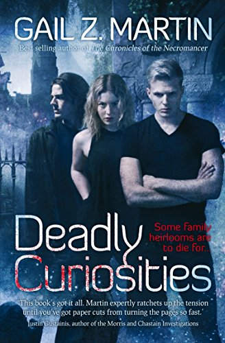 Deadly Curiosities by Gail Z. Martin | books, reading, book covers